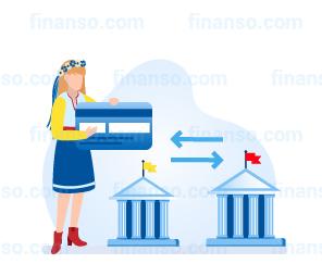 Переказ коштів між картками різних банків