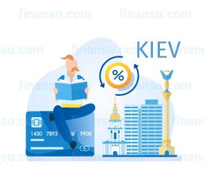 Картка з дебетовим балансом в Київі