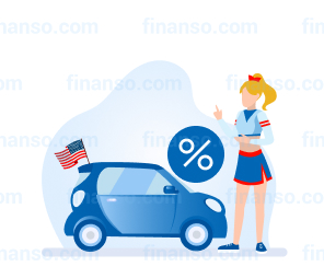 Interconnection of credit rating and an average car loan rate of interest