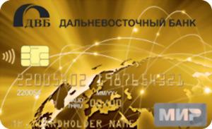 Дебетовая Мир с cash back